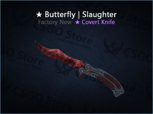 ★ Butterfly Knife | Slaughter (Factory New)
