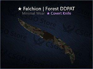 ★ Falchion Knife | Forest DDPAT (Minimal Wear)