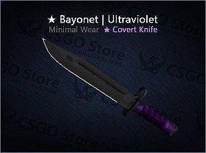 ★ Bayonet | Ultraviolet (Minimal Wear)