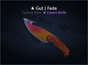 ★ Gut Knife | Fade (Factory New)