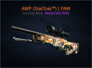 AWP (StatTrak™) | PAW (Factory New)