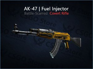AK-47 | Fuel Injector (Battle-Scarred)