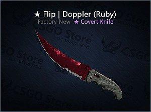 ★ Flip Knife | Doppler Ruby (Factory New)