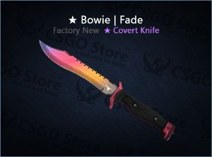 ★ Bowie Knife | Fade (Factory New)