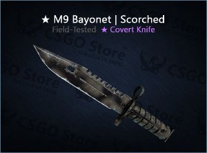 ★ M9 Bayonet | Scorched (Field-Tested)
