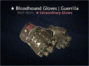 ★ Bloodhound Gloves | Guerrilla (Well-Worn)
