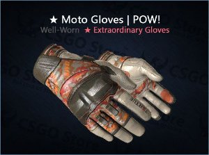 ★ Moto Gloves | POW! (Well-Worn)