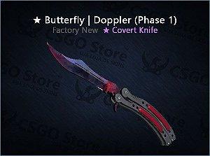 ★ Butterfly Knife |Doppler Phase 1 (Factory New)