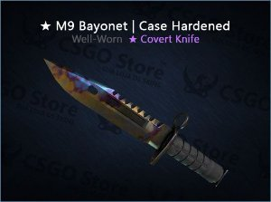 ★ M9 Bayonet | Case Hardened (Well-Worn)