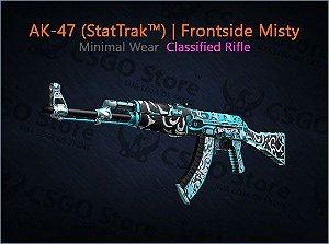 AK-47 (StatTrak™) | Frontside Misty (Minimal Wear)