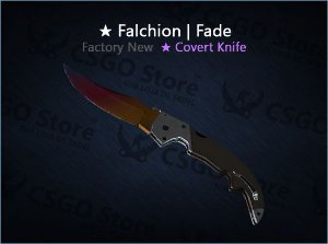 ★ Falchion Knife | Fade 0.007 (Factory New)