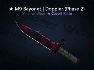 ★ M9 Bayonet | Doppler Phase 2 (Minimal Wear)