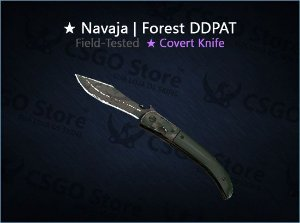 ★ Navaja Knife | Forest DDPAT 0.15 (Field-Tested)