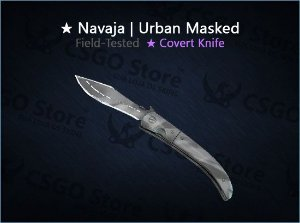 ★ Navaja Knife | Urban Masked (Field-Tested)