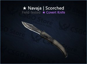 ★ Navaja Knife | Scorched 0.16 (Field-Tested)