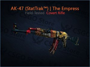 AK-47 (StatTrak™) | The Empress (Field-Tested)