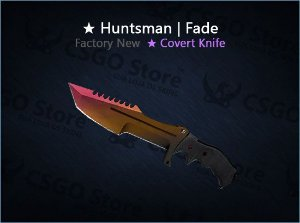 ★ Huntsman Knife | Fade (Factory New)