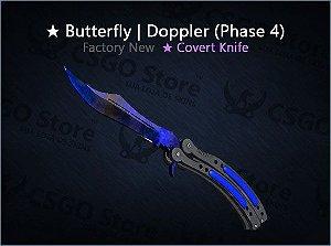 ★ Butterfly Knife | Doppler Phase 4 0.006 (Factory New)
