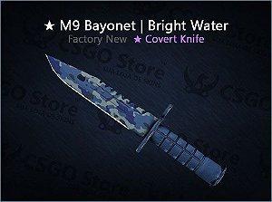 ★ M9 Bayonet   Bright Water (Factory New)