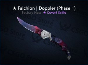 ★ Falchion Knife | Doppler Phase 1 (Factory New)
