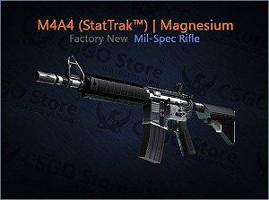 M4A4 (StatTrak™) | Magnesium (Factory New)