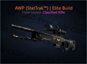 AWP (StatTrak™) | Elite Build (Field-Tested)