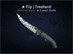 ★ Flip Knife | Freehand (Minimal Wear)
