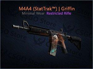M4A4 (StatTrak™) | Griffin (Minimal Wear)