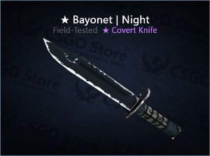 ★ Bayonet | Night (Field-Tested)