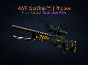 AWP (StatTrak™) | Phobos (Field-Tested)