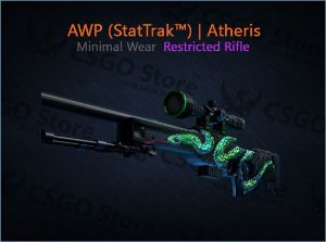 AWP (StatTrak™) | Atheris (Minimal Wear)