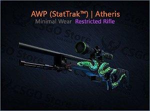 AWP (StatTrak™) | Atheris (Minimal Wear)