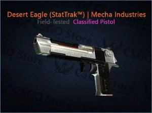 Desert Eagle (StatTrak™) | Mecha Industries (Field-Tested)
