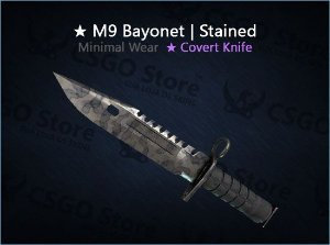 ★ M9 Bayonet | Stained (Minimal Wear)