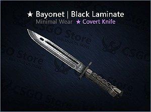 ★ Bayonet | Black Laminate (Minimal Wear)