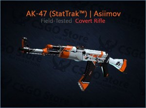 AK-47 (StatTrak™) | Asiimov (Field-Tested)