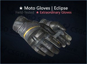 ★ Moto Gloves | Eclipse (Field-Tested)