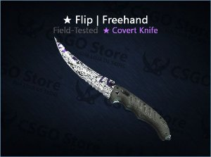 ★ Flip Knife | Freehand (Field-Tested)