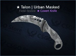 ★ Talon Knife | Urban Masked (Field-tested)