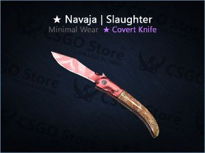 ★ Navaja Knife | Slaughter (Minimal Wear)
