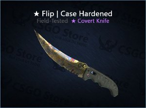 ★ Flip Knife | Case Hardened (Field-Tested)