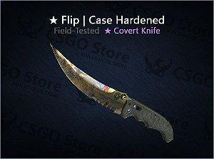 ★ Flip Knife | Case Hardened (Field-Tested)