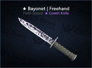 ★ Bayonet | Freehand (Field-Tested)