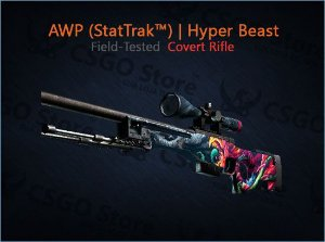 AWP (StatTrak™) | Hyper Beast (Field-Tested)