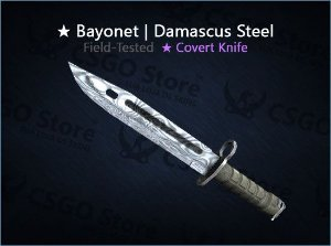 ★ Bayonet | Damascus Steel (Field-Tested)