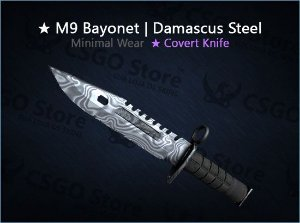 ★ M9 Bayonet | Damascus Steel (Minimal Wear)