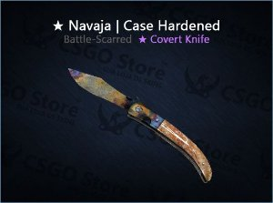 ★ Navaja Knife | Case Hardened (Battle-Scarred)