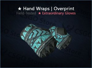 ★ Hand Wraps | Overprint (Field-Tested)