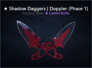 ★ Shadow Daggers | Doppler Phase 1 (Factory New)