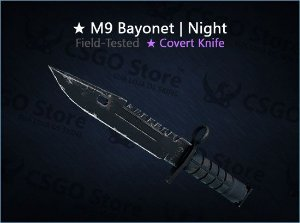 ★ M9 Bayonet | Night (Field-Tested)